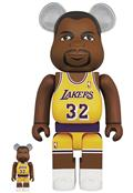 Los Angeles Lakers Magic Johnson 100% & 400% Bea 2Pk (C: 1-1