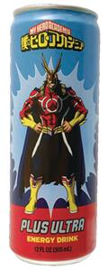 My Hero Academia Plus Ultra Energy Drink 12Ct Cs (Net) (C: 1
