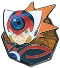 Mega Man X Circuit Board Series Axl Pin (C: 1-1-2)