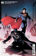 Batman Superman #19 Cvr B Greg Capullo Card Stock Var
