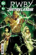 Rwby Justice League #3 (of 7) Cvr A Mirka Andolfo