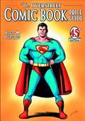 Overstreet Comic Bk Pg SC Vol 45 Joe Shuster Superman Cvr (O