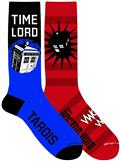 Doctor Who Time Lord Crew Sock 2Pk (C: 1-1-2)