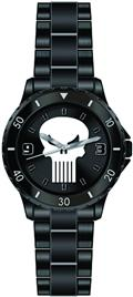 Marvel Punisher Matte Black Bracelet Watch (C: 1-1-1)