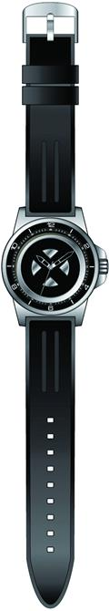 Marvel X-Men Silver Wristwatch W/Rubber Strap (C: 1-1-1)