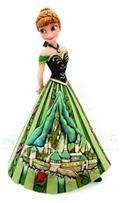 Disney Traditions Frozen Anna W/Castle Dress Fig (C: 1-1-2)