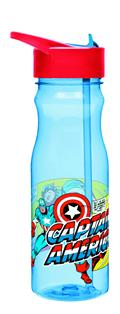 Captain America 25 Oz Tritan Water Bottle (C: 1-1-2)