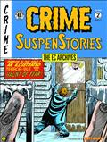 Ec Archives Crime Suspenstories HC Vol 02 (C: 0-1-2)