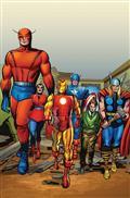 Avengers #672 Kirby 100 Var Leg