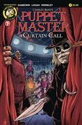 Puppet Master Curtain Call #1 Cvr A Logan (MR)