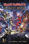 Iron Maiden Legacy of The Beast #1 (of 5) Cvr C Casas (C: 0-