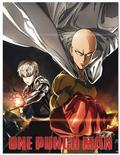One Punch Man Saitama & Genos Sublimation Throw Blanket (C: