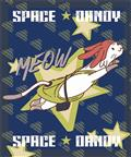 Space Dandy Meow Sublimation Throw Blanket (C: 1-0-2)