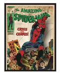Spider-Man Comic Cover Printed Glass Wall Art (C: 1-0-2)