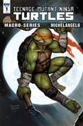 TMNT Macroseries Michelangelo 10 Copy Incv Brown (Net)