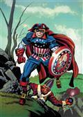 Captain America #4 Kirby Remastered Var