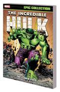 Incredible Hulk Epic Collection TP Leader Lives