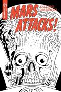 Mars Attacks #1 50 Copy Schweizer B&W Incv (Net)