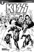 Kiss Blood Stardust #1 10 Copy Buchemi B&W Incv (Net)