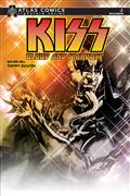 Kiss Blood Stardust #1 Bryan Hill Sgn Atlas Ed (C: 0-1-2)