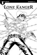 Lone Ranger Vol 3 #1 10 Copy Cassaday B&W Incv (Net)