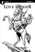 Lone Ranger Vol 3 #1 30 Copy Allred B&W Incv (Net)