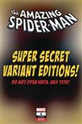DF Amazing Spiderman #1 Brooks Secret E Sketch Cvr (C: 0-1-2