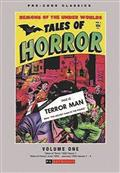 Pre Code Classics Tales of Horror HC Vol 01 (C: 0-1-1)