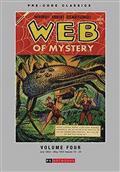 Pre Code Classics Web of Mystery HC Vol 04 (C: 0-1-1)