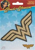 Wonder Woman Shimmer Logo Iron On Patch (C: 1-1-2)