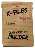 X-Files Evidence Bag Lunch Tote (C: 0-1-2)