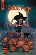 Bettie Page Halloween Special One Shot Cvr B Brown