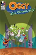 OGGY-THE-COCKROACHES-1-CVR-C-LTD-ED-ANIMATION-CEL