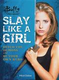 BUFFY-THE-VAMPIRE-SLAYER-SLAY-LIKE-A-GIRL-FLEXIBOUND-(C-0-1