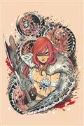 Die!Namite #1 Momoko Red Sonja Ltd Virgin Cvr