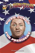 Three Stooges Red White & Stooge #1 Curly Cvr