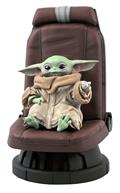 Star Wars The Mandalorian Child In Chair 1/2 Scale Statue (C