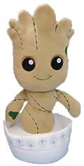 Phunny Guardians of The Galaxy Potted Groot Plush (C: 1-1-2)