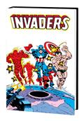 Invaders Omnibus HC Robbins Cvr