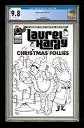 Laurel & Hardy Christmas Follies #1 Century Edition CGC Grad