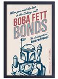 Star Wars Boba Fett Bonds 11X17 Framed Print (C: 1-1-2)