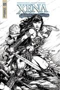 Xena #1 (of 5) Cvr E 25 Copy Finch B&W Incv (Net)