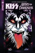 Kiss Aod #1 (of 5) Cvr H 50 Copy Simmons Sgn (Net)