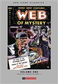 Pre Code Classics Web of Mystery HC Vol 01 (C: 0-1-1)
