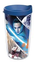 Star Wars Last Jedi Action Shot 16Oz Tumbler W/ Blue Lid (C: