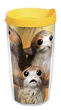 Star Wars Last Jedi Porg 16Oz Tumbler W/ Yellow Lid (C: 1-1-