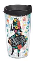 ALICE-IN-WONDERLAND-CURIOUSER-16OZ-TUMBLER-W-BLACK-LID-(C
