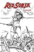 Red Sonja #1 30 Copy Linsner B&W Incv (Net)