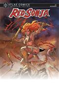 Red Sonja #1 Sgn Atlas Ed (C: 0-1-2)