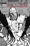 Battlestar Galactica Twilight Command #1 10 Copy Schoonover